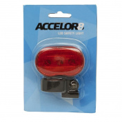 Accelor8 Bike Safety Light Red