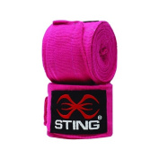Sting Elasticised Hand Wraps Pink