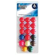 Formula Sports Standard Snooker Balls 5.1cm