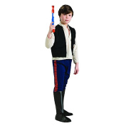 Star Wars Deluxe Han Solo Childs' Costume Assorted Sizes