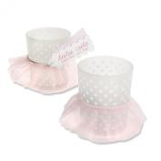 Kate Aspen Tutu Cute Glass Votive, Pink
