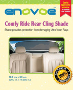Rear Car Sun Shade - Premium Baby Car Window Shade for rear windshield is best for blocking over 97% of Harmful UV Rays while protecting your child from sunlight and glare