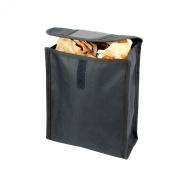 Adeco Single-Pocket Seat Back Organiser Storage Bag for Vehicle/Car, Black