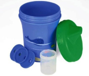 Sippy Sure The Medicine Dispensing Sippy Cup, Blue/Green 2-Pack