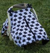 BayB Brand Car Seat Canopy - Soccer Ball