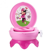 Potty Train the First Years 3-in-1 Potty Toilet System, Chair Stool Minnie Mouse