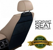 2 Pcs The Kick Mat Protector™ ★Easy to Clean ★One Package to Protects Both Driver and Passengers Seats ★Bacterial Resistant Material ★Large Dimension 80cm X 43cm ★Easy Storage