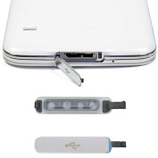 AutumnFall for Samsung Galaxy S5 Replacement Usb Port Cover Flap