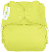 BumGenius Freetime All in One Cloth Nappy - Snap - Jolly (Citron Green) - One Size