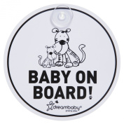 Dreambaby Baby On Board Sign, Tiger