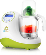 Lil' Jumbl MealPro All-in-One Baby Food Blender, Steamer & Reheater - Also Safely Warms & Sterilises Bottles & Pacifiers