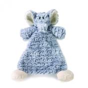 Nat and Jules Rattle Blankie, Ellery Elephant