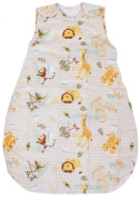 Baby Sleeping Bag with Animal Pattern, 2.5 Tog's Winter Model (Small