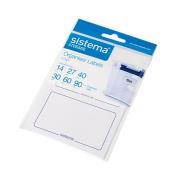 Sistema Organiser Labels 8 Pack