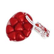 Sorini Red Chocolate Hearts in Mesh Bag 80g