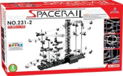 eSmart Spacerail/Spacewrap Level 2, DIY Educational Kit Puzzle Toy, Marble Roller Coaster, Magnificent Never Ending Marble Tracks - Great Science Fun Project 10,000mm Rail [Special Edition]