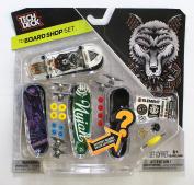 TECH DECK 96mm BOARD SHOP - 4 ELEMENT BOARDS - Includes Mystery Board - New