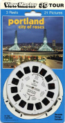 ViewMaster -Portland, City of Roses - 3 Reels on Card- NEW
