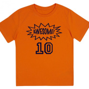 """Awesome at 25cm - Kids' Unisex Birthday T Shirt Gift"
