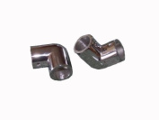 Hand Rail Fitting 90 degree elbow 2.5cm tube Stainless Steel