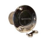 Stainless Boat Water Tank Deck Fill port w/ key 5.1cm
