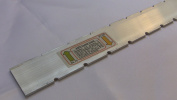 Straight Edge for Luthiers Tool, Guitar Neck, Notched, 24.75 and 25.5 Scales Gibson Fender