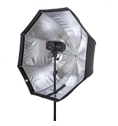 "Godox 47""/120cm Umbrella Octagon Softbox Reflector with Carrying Bag for Portrait or Product Photography"