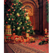 CAMTOA 2.1m x 1.5m Christmas Pictorial cloth Customised photography Backdrop Background studio prop