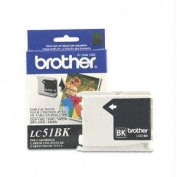 for Brother Lc51bk - Black - Original - Ink Cartridge - For Dcp 350, Fax 1360, 2580, Intellifax 1360, 1860, 1960, 2580, Mfc 230, 465, 685, 845, 2250cm Product Type