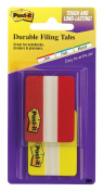 Post-it Tabs, 5.1cm Solid, Red, Yellow, 22-Tabs/Colour, 2-Dispensers/Pack