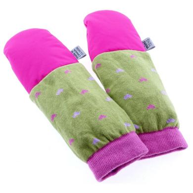 mimiTENS Classic Long Sleeve Warm Winter Mittens (Pink)