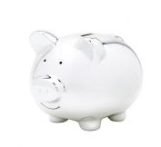 babuqee Piggy Bank (Silver)