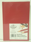 Royal Langnickel Sketchbook 14cm X 22cm 220 pages Red HardCover Drawing Book