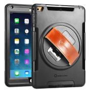 iPad Air Case, New Trent Gladius Air iPad Case for iPad Air and iPad Air 2 360 Degree Rotatable [Rugged
