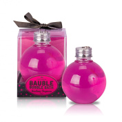 MAD BEAUTY BAUBLE BUBBLE BATH CRANBERRY CHRISTMAS GIFT FOR HER