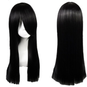 S-noilite® 60cm Full Wig for Fancy Dress Parties Cosplay Healthy Hair Long Straight Amine Wigs
