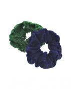 Zac's Alter Ego® Set of 2 Glitter Hair Scrunchies
