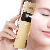 SKG Premium Handheld Nano Ionic Cool Mist Face Sprayer - 10x More Effective Than Facial Mask - Portable Face Hydration Spray Facial Cooling Spray - USB Rechargeable Face Mist Sprayer Facial Moisturiser - Facial Toner Spray Facial Mister - Moisturising ..