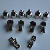 3-Bow Bimini Top Stainless Steel Boat Fittings Hardware 2.2cm