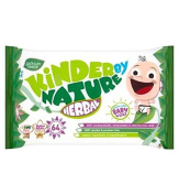 Jackson Reece Kinder By Nature 64 Natural Herbal Baby Wipes - Pack of 2