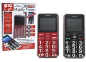 Big Digit Button Mobile Phone
