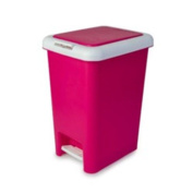 Blue Canyon Spectrum Dustbin Plastic 10L Pink