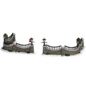 2006 Stone Wall Set of 6 Village Table Accents