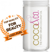 Coconut Oil for Hair & Skin By COCO & CO. Pure, Clean, 100% RAW, Travel Size 130ml