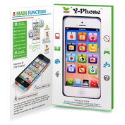 Toy Phone Baby Childrens Y-Phone Educational Learning Kids iPhone TOY 4s 5