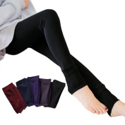 Serda Women's Winter Thick Warm Fleece Lined Thermal Stretchy Leggings Pants