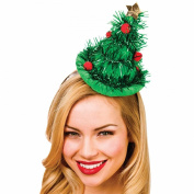 Adults Christmas Hat On Headband Xmas Fancy Dress Accessories Reindeer Christmas tree elf Bow