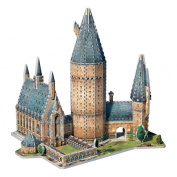 Wrebbit 3D Harry Potter Hogwarts Great Hall Puzzle