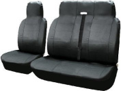 VW Transporter T4 Leather Look Van Seat Covers Single Drivers And Double Passengers Seat Covers Set