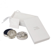Twinkle Twinkle Silverplated Baby Gift and Bag - First Tooth and Curl Box